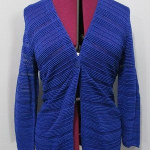 Jones New York Sweater Blue Size Petite Large